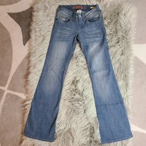 Hydraulic Flare Denim Light Blue Jeans size 1/2